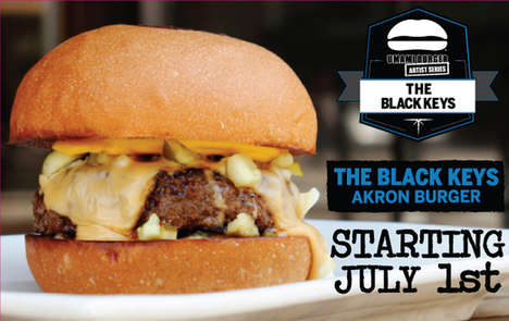 Rock Band Burgers - Umami Burger is Dropping its Black Keys Burger on July 1st