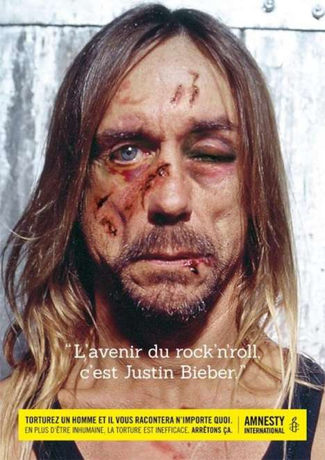 Celebrity Abuse Ads - This Amnesty International Celebrity Campaign Reveals Awful Confessions