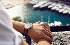 French Riviera-Inspired Watches - Corniche Watches's Scandinavian Timepiece Designs are Flawless