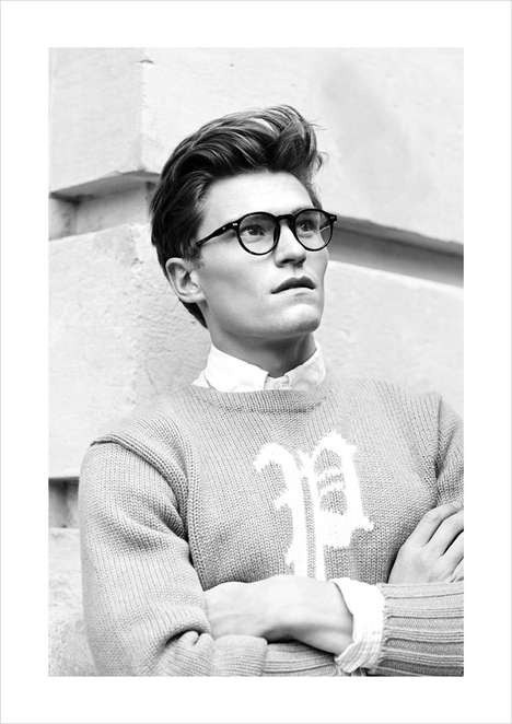 Elegantly Preppy Captures - Client Magazine's Oliver Editorials Celebrates Debonair Menswear Styling