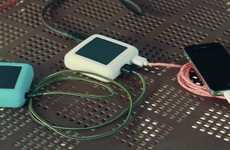 Solar-Powered Battery Chargers