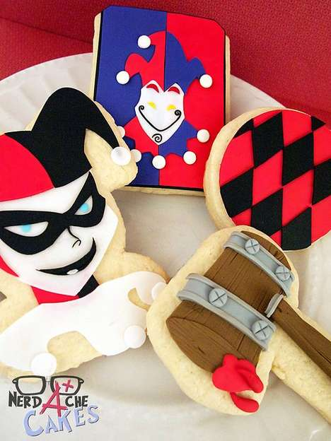 Villainous Character Cookies - These Batman Cookies Capture the Look of the Iconic Gotham Criminals