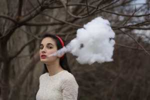 Alexis Mire's 'The Cotton Series' Plays with Dreamily Suspended Clouds