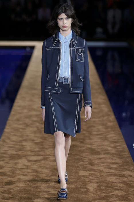 70s Menswear Couture - The Prada Resort 2015 Collection is Ultra Luxe