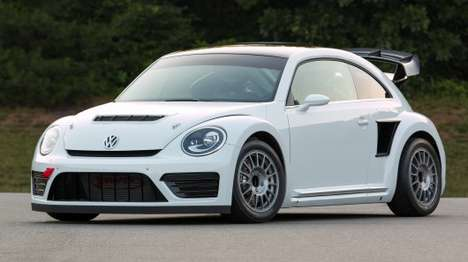 Turbocharged Classic Cars - The Rallycross Beetle is a Racing Version of the Volkswagen Beetle