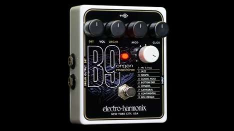 Ingenious Music Pedals - The EHX B9 Pedal Allows Guitarists to Generate Classic Organ Sounds