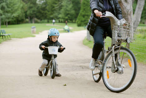 Bike Sharing for Kids - The P'tit Velib Program in Paris is an Extension of Its Velib Network