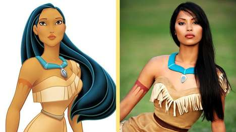 Disney Princess Cosplays - Ultimate Fans Make Themselves Over to Look Like Favorite Cartoon Heroine