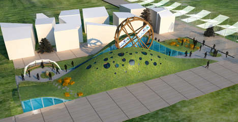 Agricultural Wheel Pavilions - Belarus Will Be Showcasing The Wheel of Life at Expo Milan 2015