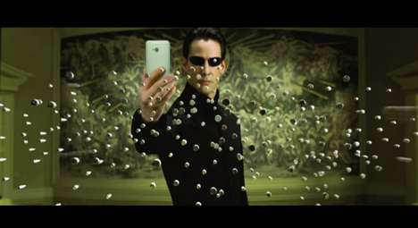 Movie Scene Selfie Videos - This Video Shows Celebrity Selfies by Famous Movie Characters