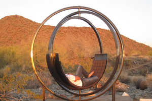 The Etazin Lounge Chair is a Desert Oasis in Itself