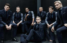 Stylish Soccer Team Suits - Hugo Boss Designed World Cup Clothing for Germany's Appearances