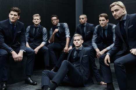 Stylish Soccer Team Suits - Hugo Boss Designed World Cup Clothing for Germany