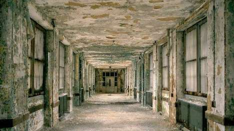 Abandoned American Asylums - Photographer Jeremy Harris Captures a Long Gone Era