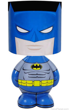 Superhero Lighting Decor - The Batman Desk Lamp from Retro Planet Celebrates the Iconic Character