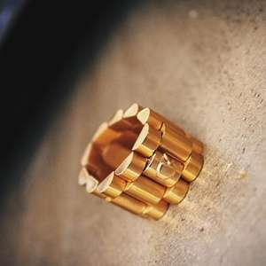 Luxury Watch-Inspired Rings - Davinci New York Created a Ring That Replicates Rolex Links