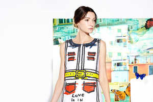 Alice + Olivia Resort 2015 Boasts a Youthful Playfulness