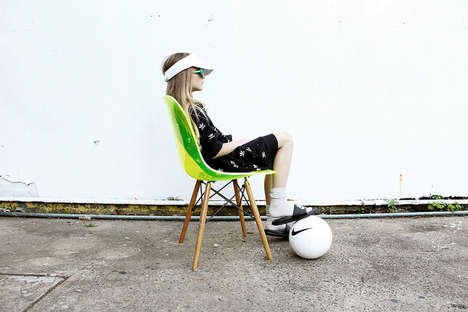 Sporty Childrenswear Photoshoots - La Petite Magazine's Shoot Centers Around World Cup Kids Clothing