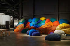 Fabric Tuft Installations