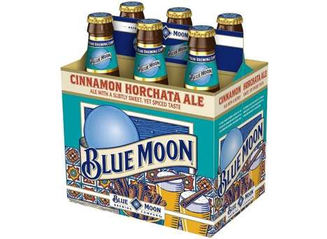 Cinnamon-Spiced Brews - The New Blue Moon Beer is Spicy and Sweet