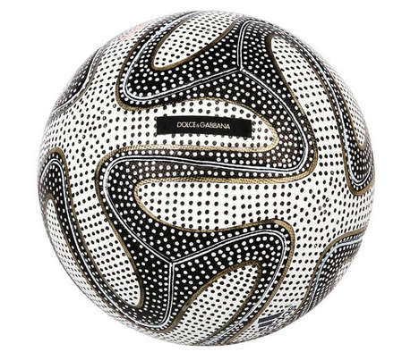 Charitable Soccer Balls - Designers Reinterpret the World Cup 2014 Ball to Benefit Brazil