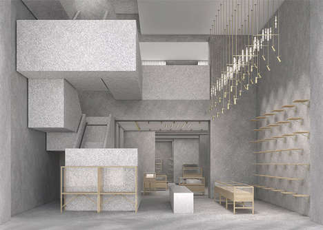 Streamlined Couture Stores - David Chipperfield Designs the Latest Valentino Flagship Stores