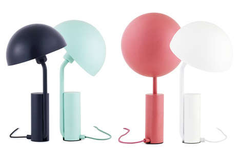 Cartoon Desk Lamps - The Cap Table Lamp Borrows Design Inspiration from a Cartoon