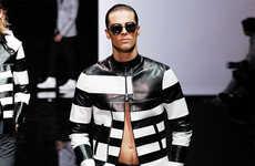 Opulent Monochrome Menswear