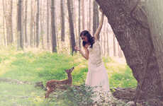 Whimsical Fawn Portraits
