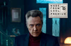 Debonair Celeb Craftsmen - The Jack & Jones Ad Campaign Stars a Hands-On Christopher Walken