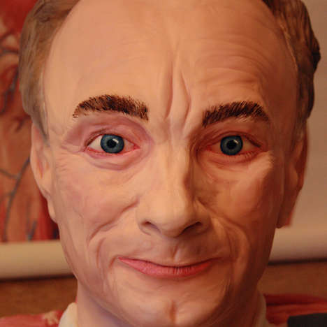 Hyperreal Face Cakes - Tattooed Bakers Blur the Line Between Edible & Illusion