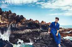 Desolate Mediterranean Editorials - The Horse Magazine Photoshoot Stars Oriol Elcacho