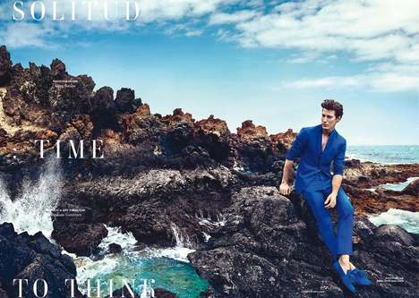 Desolate Mediterranean Editorials - The Horse Magazine June 2014 Photoshoot Stars Oriol Elcacho