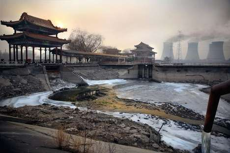 Chinese Pollution Pictures - Souvid Datta Captures the Impact Contaminated Landscapes Have on Humans