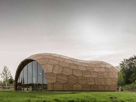 Robotic-Made Architecture - The Landesgartenschau Exhibition Hall Takes on an Odd Form