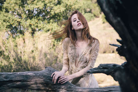 Lush Wilderness Editorials - Faith Picozzi Stars in the