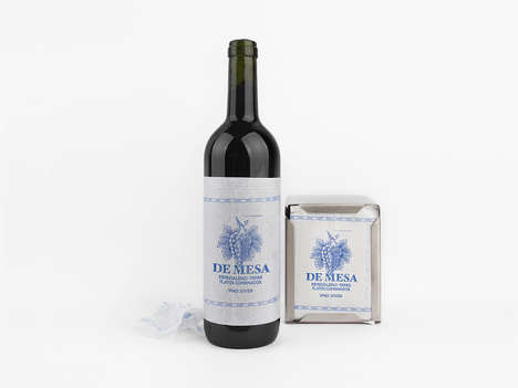 Provincial Wine Packaging - This Charming Wine Packaging Design is Perfect for Lazy Summer Picnics
