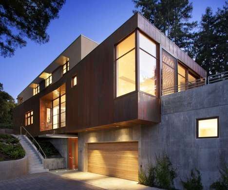 Luxuriously Leveled Architecture - CCS Architecture Builds the Mill Valley Residence in California
