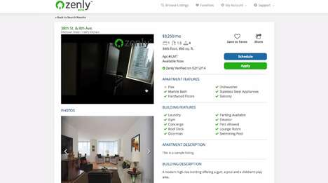 Autonomous Real Estate Services - Zenly Helps Find New York Apartment Rentals on Your Terms