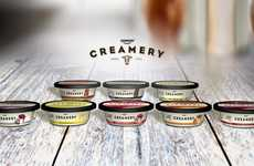 Indulgent Dessert Yogurts - The Dannon Creamery Dairy Desserts Take Inspiration from Cheesecakes