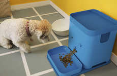 Communicative Pet Feeders - The Pawport Remote Pet Feeder Concept Features Two-way Communication
