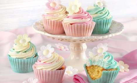 Sweet Cupcake Cases - These Edible Cupcake Wrappers From Dr. Oetker Could Revolutionize Baking