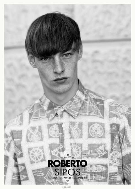 Candid Hipster Close-Ups - The Ones 2 Watch Roberto Sipos Feature Captures the Fresh Face