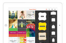 Virtual Paper Library Apps - Neenah Paper's Cabinet App Shows Off Its Premium Papers Digitally