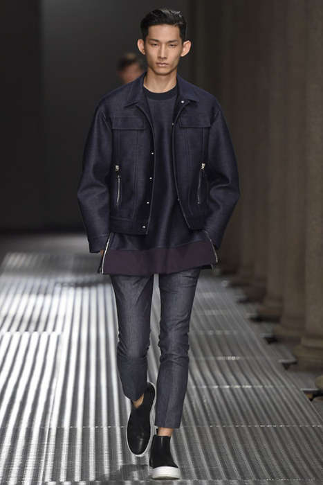 Classically Remixed Menswear - The Neil Barrett SS 2015 Collection Takes the Old with the New