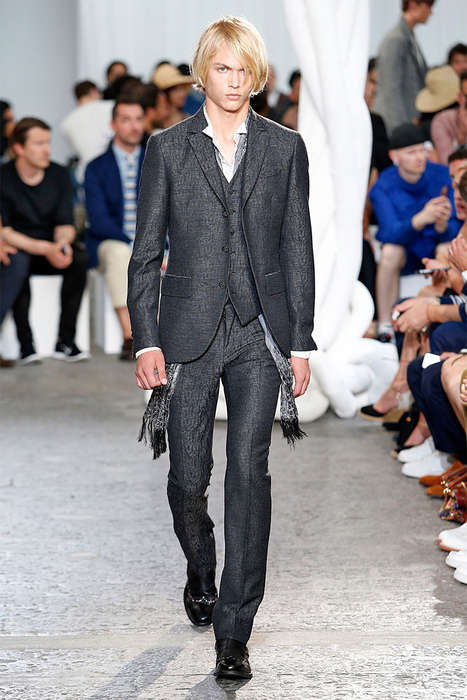 Refined Rocker Runways - The John Varvatos Spring/Summer 2015 Collection is Effortlessly Cool