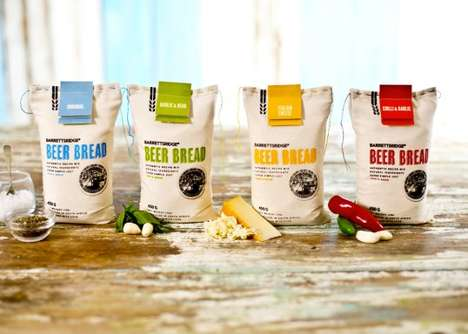 14 Branding Ideas for Bread - From Gift-Wrapped Grains to Color Burst Bread