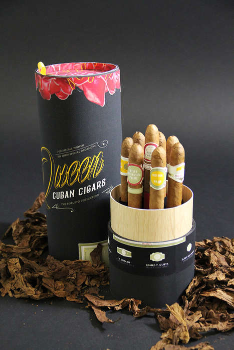 Female-Branded Cigars - Queen Cuban Cigars Aims Towards a Different Demographic