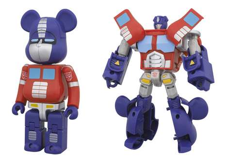 Transforming Teddy Bears - The Bearbrick x Transformers Collection Celebrate