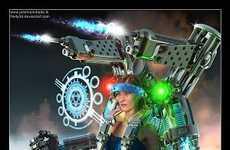 3-D Sci-Fi Art